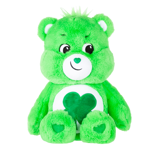 Good Luck Bear is loaded with Luck, and good things follow him wherever he goes.  You might say he leads a charmed life! Each bear comes with a special care coin to collect & share! Each coin includes a way to share your care by showing others how much you care out loud! Say! Show it! Share it!