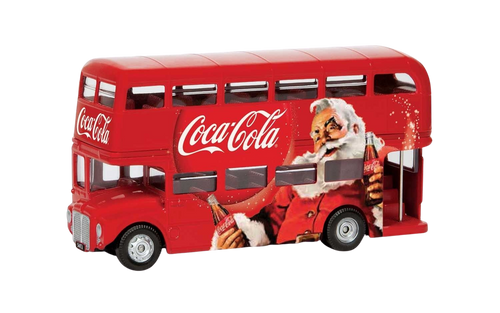Holidays are coming… need we say any more? This Classic Red Coca-Cola Bus is perfect if you're a collector or Corgi, or simply a lover of all things Christmas.