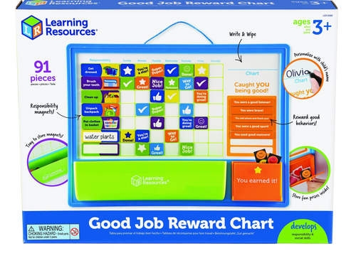 Track your child's good work and responsibilities with this fantastic Good Job Reward Chart.