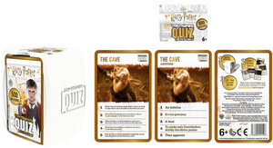 How well do you know Harry Potter and the Wizarding World? Well now is your chance to show just how well you know Harry, Hermione and Ron with Top Trumps Quiz with a Twist. There are 500 questions all about Harry Potter, it's the ultimate quiz for all Potter heads! Makes a great travel game and a fantastic stocking present at Christmas!