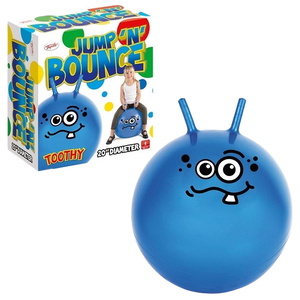 Jump 'N' Bounce Toothy Hopper is great for kids to use indoors or outdoors, they can have lots of bouncy fun on this super cool bouncy hopper, if their friends have one they can even race in the garden