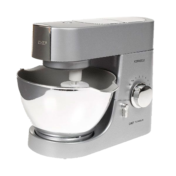 Little ones love to copy Mummy and Daddy and help out in the kitchen.  Now your child can feel exactly like a grown-up with this fantastic realistic Kenwood Mixer.  They can have some real baking fun with this working Kenwood Mixer, recipe book and spatula.  Let's lift up the arm and insert the