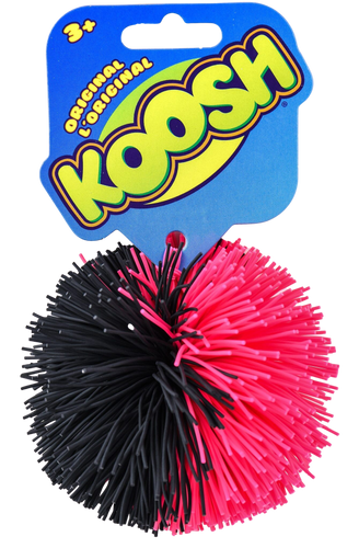 Who remembers Koosh Balls? The original fidget toy! Easy to pick up but hard to put down! this fun ball is great to play catch with indoors or outdoors, why not try 3 to juggle with? This rubber pom pom ball is #unputdownable! Amazing for little ones or adults can use this a s a stress ball on their desk!
