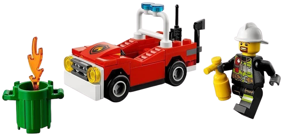The perfect little gift for any Lego lover, your little one can have fun building this cute little fire car and pretending to put out fires all around the City! This little item will keep you little one amused for hours, also great as a collectors item for bigger kids!