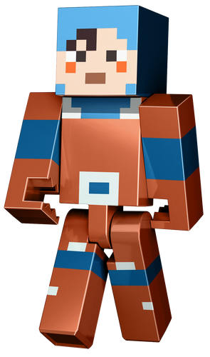 These large figures from the famous Pixelated video game Minecraft will be your childs favourite toy if they are obsessed with playing it! The Hex character is exactly as you would see it in the video game Minecraft.