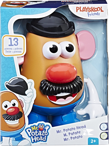 Mr Potato Head is the much loved character from Toy Story, your child will love bringing him to life, just like in the movie, he/she can put all the pieces of his face in whichever way they feel, try to make him look as silly as possible!