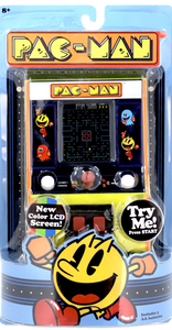 Navigate Pac-Man around the maze, eating dots & avoiding ghosts! This classic arcade game is fantastic for retro gaming fanatics, it's just like the arcade game from the 80s but miniature!