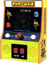 Load image into Gallery viewer, Navigate Pac-Man around the maze, eating dots & avoiding ghosts! This classic arcade game is fantastic for retro gaming fanatics, it's just like the arcade game from the 80s but miniature!
