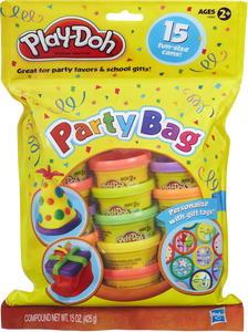 Share the fun with this 15 tub play-doh party bag, great for party favours and school gifts, years 2 and upwards can have hours of modelling fun!