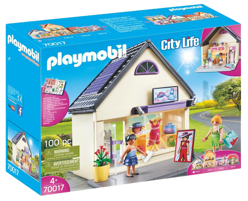 Playmobil Fashion Boutique is the ultimate toy for any little girl who loves to pretend she's shopping just like Mummy, does your little one love Fashion? This is the toy for her!