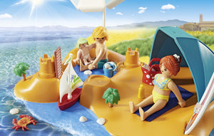Playmobil Fun at the beach is great for boy and girls, your little one can pretend to be on a beach on a sunny day, playing in the sand and in the sea!