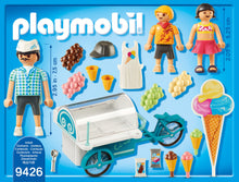 Load image into Gallery viewer, Playmobil Ice Cream Cart