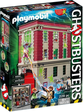 Load image into Gallery viewer, Playmobil Ghostbusters Fire Headquarters