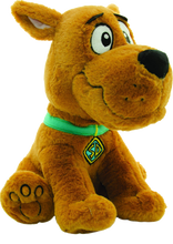 Load image into Gallery viewer, Scooby Doo.....everyones favourite dog! Scooby says 10 iconic phrases when you squeeze his paw! Ruh-Roh! Now you can have a best friend to chat with where ever you go! You and Scooby can solve mysteries together!