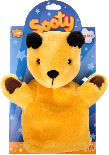 Let your child's imagination take over with this authentic Sooty hand puppet! They can put on their own Sooty show, and tell enjoyable stories that will entertain the whole family. Made from super soft, plush fabric, this lovable little bear will be a hit with everyone. No Sooty fan should be without one!