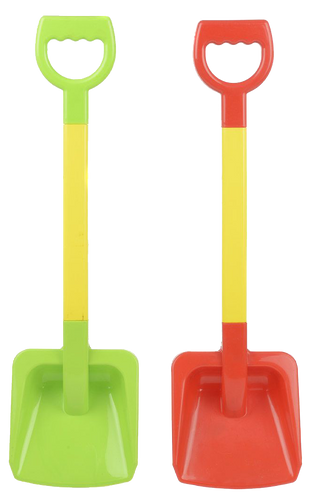 Who's ready for sunny days at the beach, making sand castles and digging huge holes to play in? This great spade is perfect for bringing to the beach and getting stuck into the sand, will bring hours of fun.Who's ready for sunny days at the beach, making sand castles and digging huge holes to play in? This great spade is perfect for bringing to the beach and getting stuck into the sand, will bring hours of fun.  2 colours to choose from.