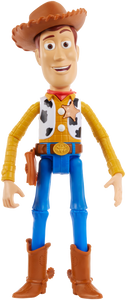 Woody is brought to life! This fantastic loveable Pixar character has 15+sounds and phrases for your little ones to enjoy and pretend they are to in the movie Toy Story! Re-live your favourite movie moments with this fully articulated talking figure!