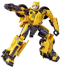 Load image into Gallery viewer, Reach past the big screen and build the ultimate Transformers collection with Studio Series figures, inspired by iconic film scenes and designed with specs and details to reflect the Transformers film universe