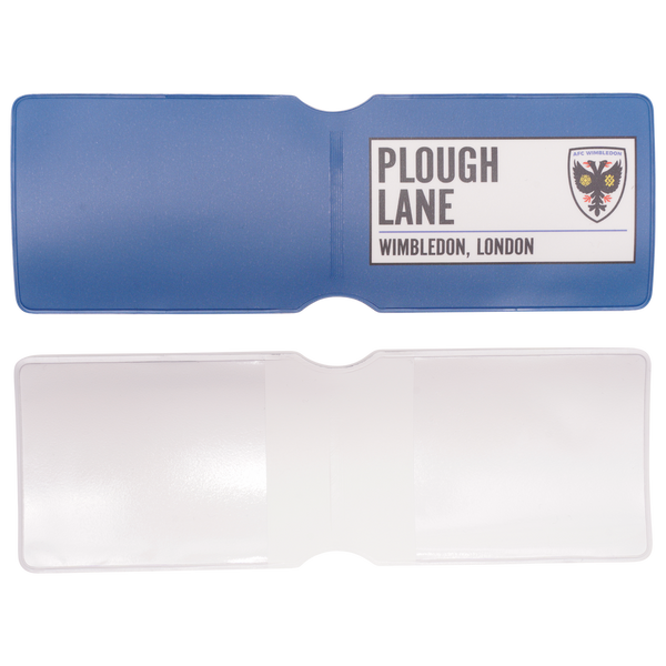 Oyster Card Holder - Plough Lane