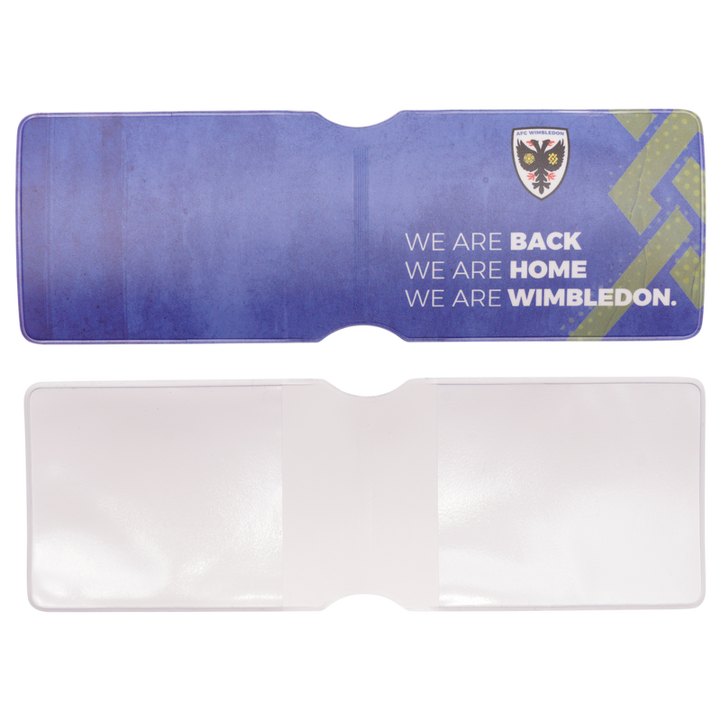 Oyster Card Holder - We Are Back