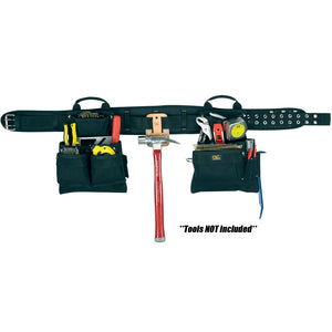CLC 5608 17 Pocket 4-Piece Carpenter's Combo Tool Belt [5608]