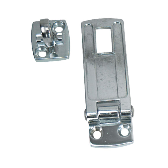 Whitecap Swivel Safety Hasp - CP/Zamac - 1-1/8