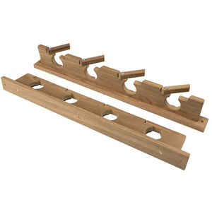 Whitecap Teak Lock-In Four-Rod Storage Rack [60620]