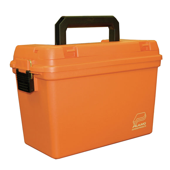 Plano Deep Emergency Dry Storage Supply Box w/Tray - Orange [161250]