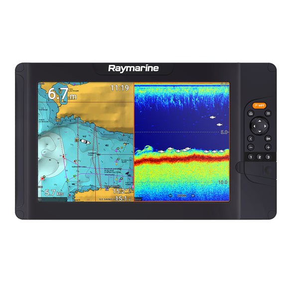Raymarine Element 12 S Combo High CHIRP - No Transducer - No Chart [E70535]