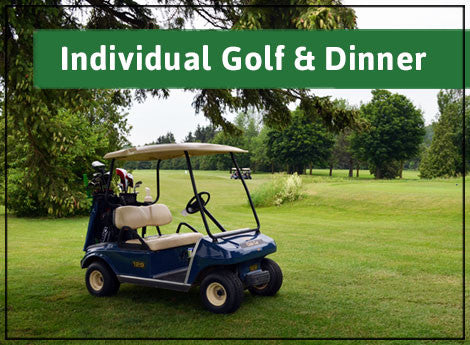 Individual Package: Golf & Dinner