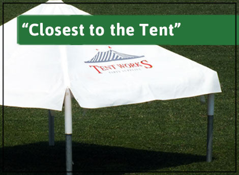 """Closest to the Tent"" Sponsor"