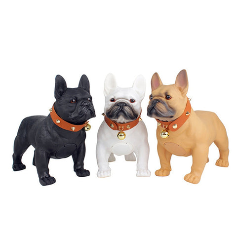 French Bulldog Portable Wireless Bluetooth Mini Speakers