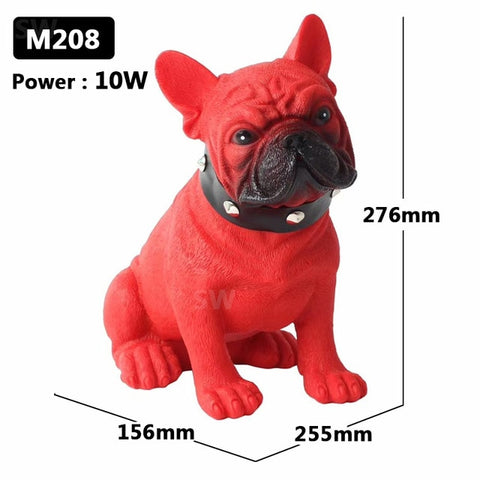 Realistic French Bulldog Portable Wireless Bluetooth Speakers