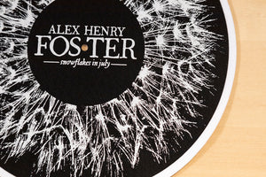 """Snowflakes in July"" Slipmat"