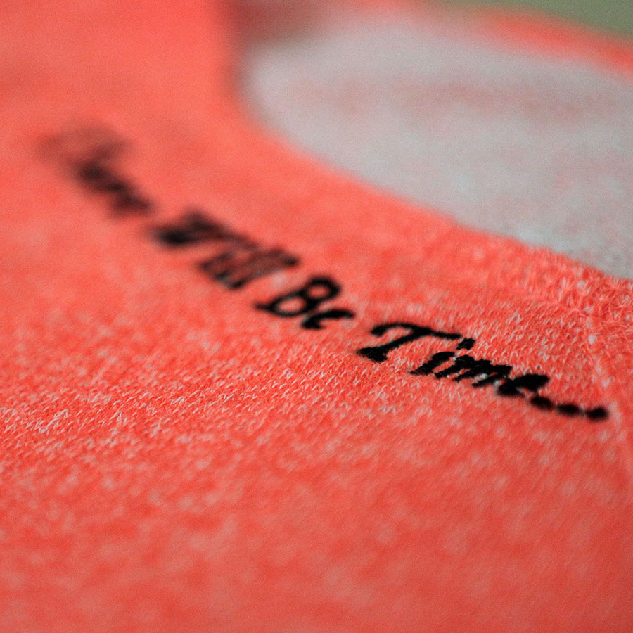 """There Will Be Time"" Boat Neck Long Sleeve T-Shirt"