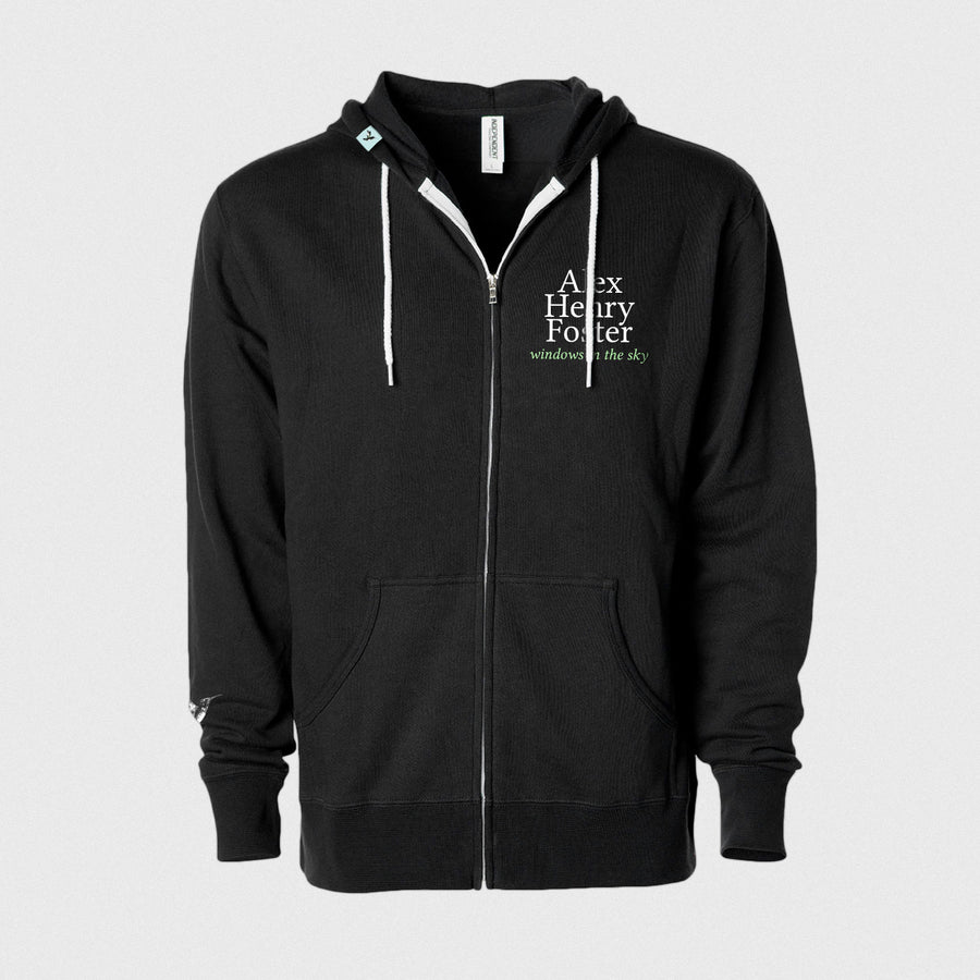 """Colors of the Invisible"" Zipped Fleece Hoodie"