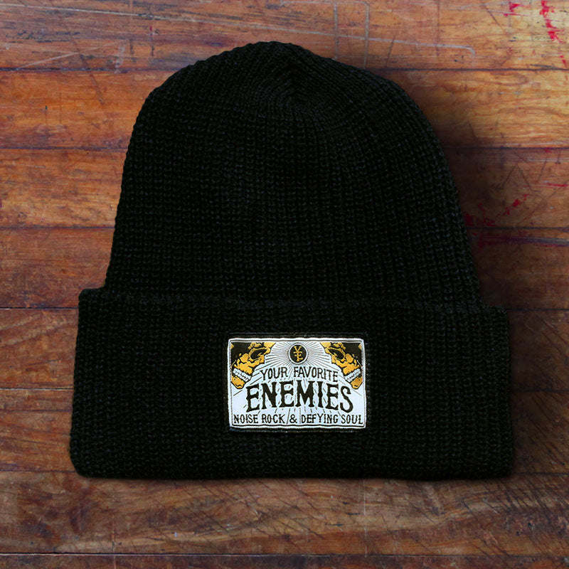 """Head Full Of Wonders"" Beanie - Black"