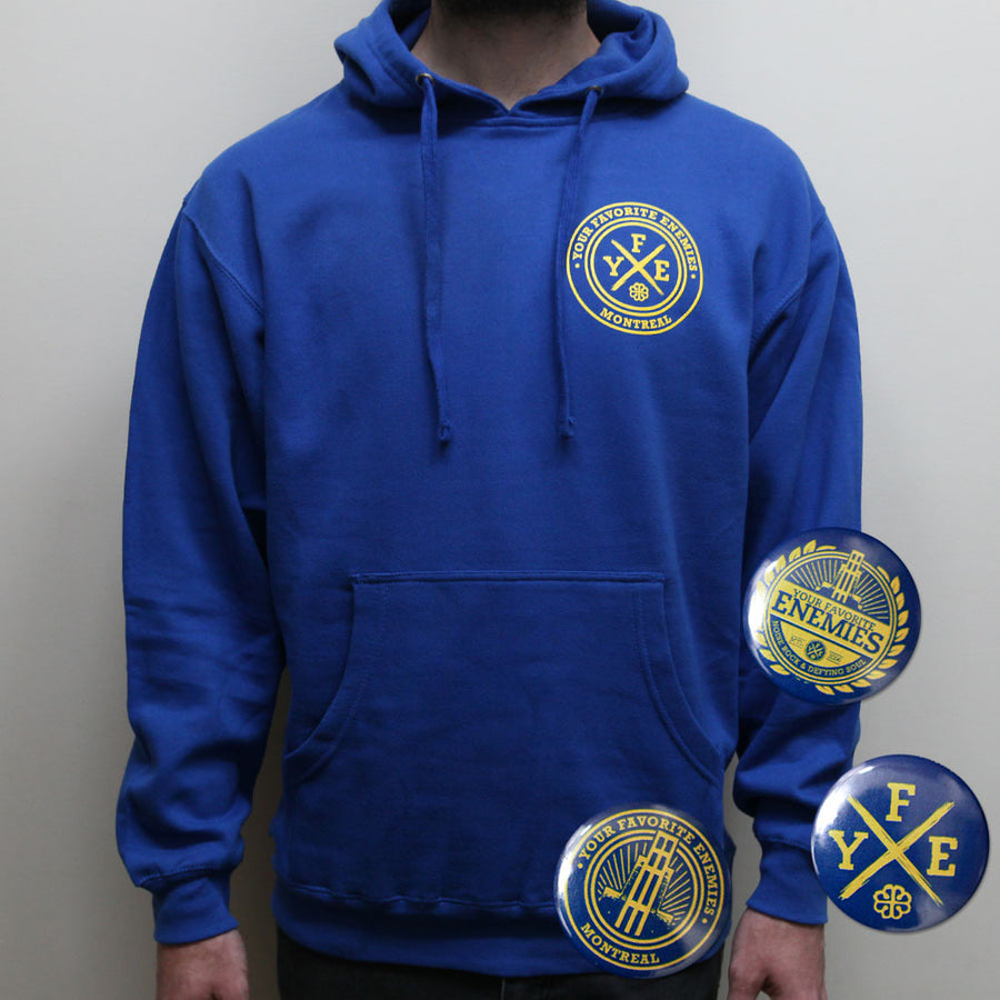 """The Joyful Essence Of Homecoming"" Pullover Hoodie - Royal"