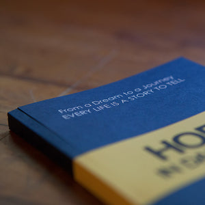 """Hope in Dark Days"" Notebook - Navy"
