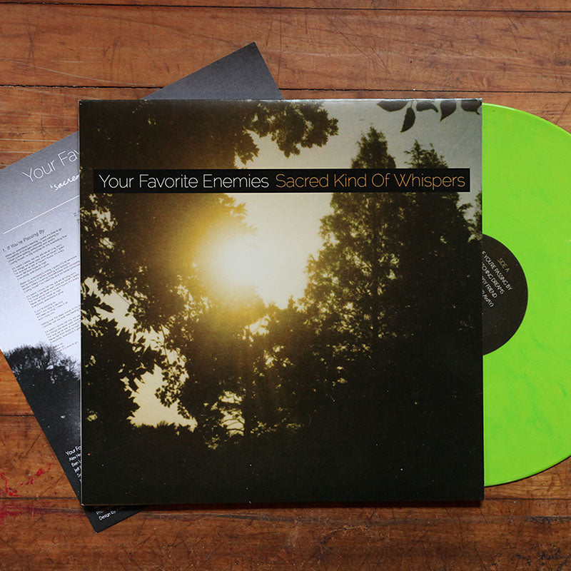 """Sacred Kind Of Whispers"" - Green Edition [Vinyl]"