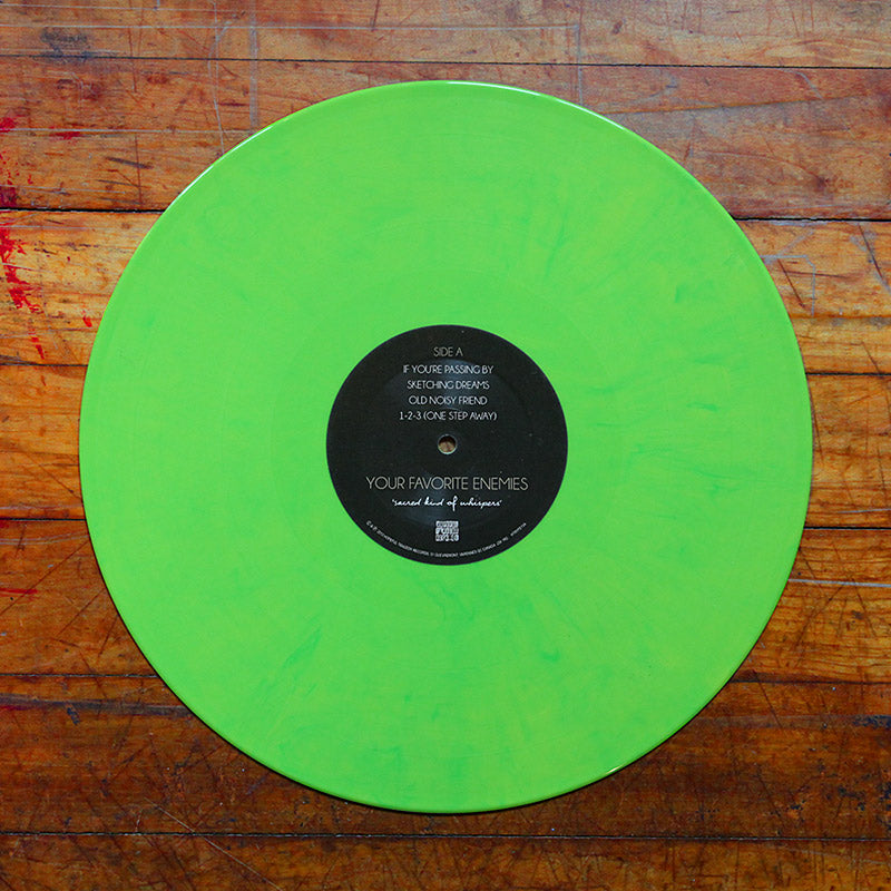 """Sacred Kind Of Whispers""- Green [Vinyl]"
