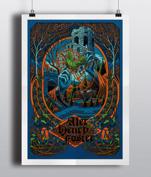 """As Long as the Heart"" Silkscreen Poster"