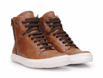 Sneaker Slim M -  Comfort Leather Brown Whisky