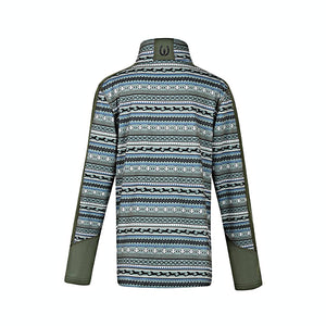 Kids Fair Isle Fleece Tech Top