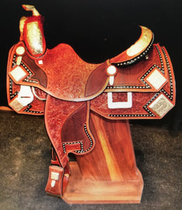 Miguel Aguilar Eight Corner Angled Saddle