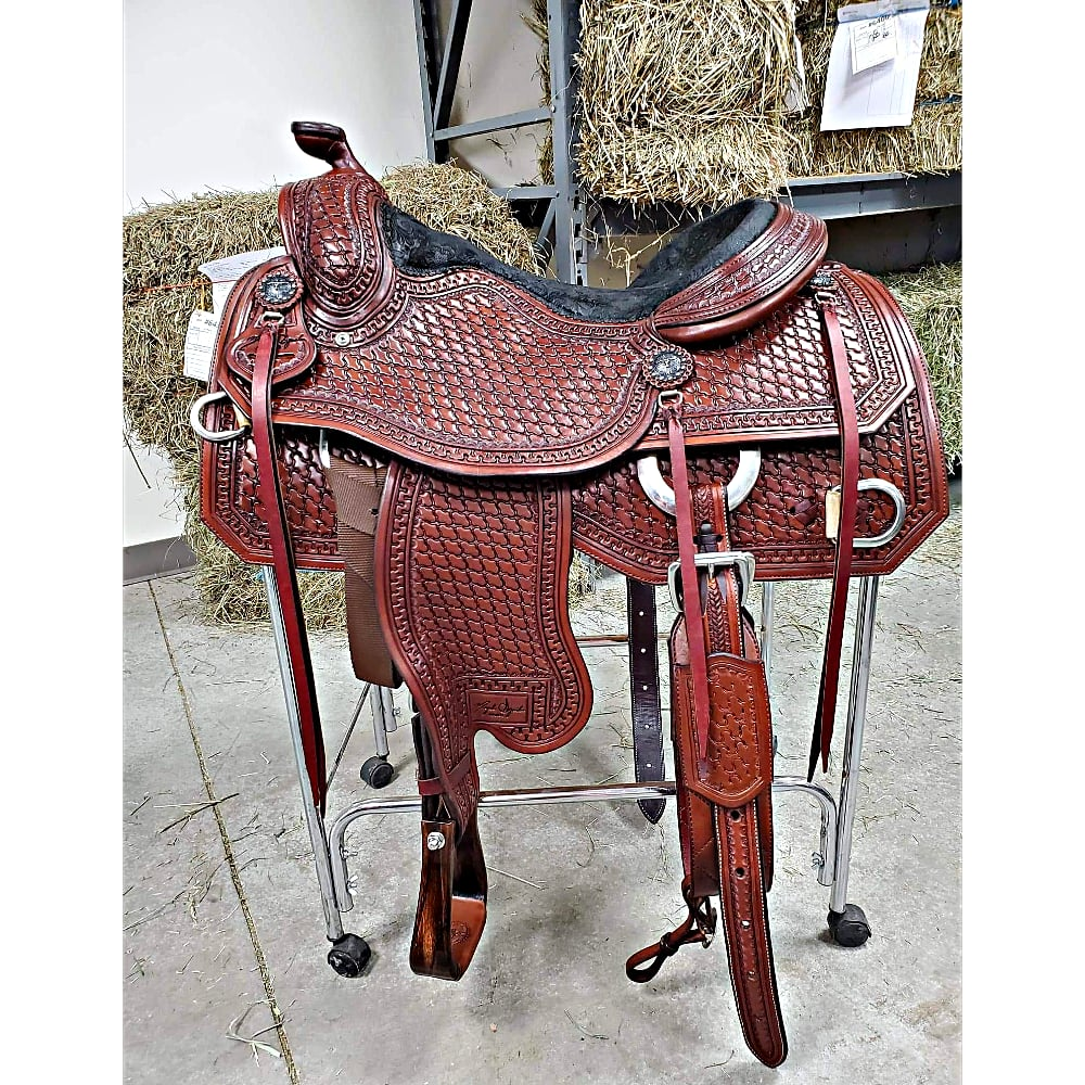 Miguel Aguilar Ranch Saddle One