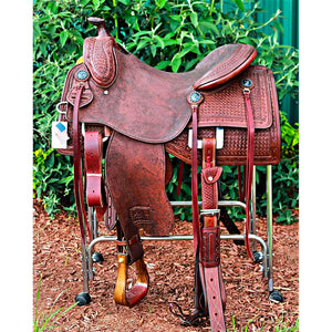 Miguel Aguilar Ranch Saddle Two