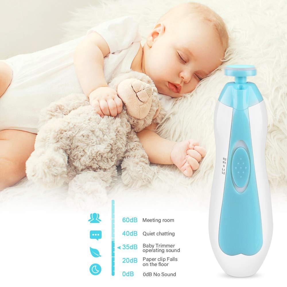 LED Baby Nail Trimmer Set - Natural Baby