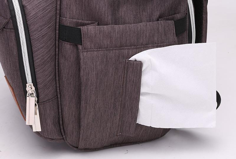 Oxford Diaper Bag - Natural Baby