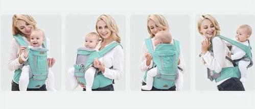 Breathable 3 in 1 Ergonomic Baby Carrier Wrap Hipseat sling